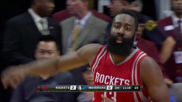 WSC: James Harden with 23 Points vs Mavericks
