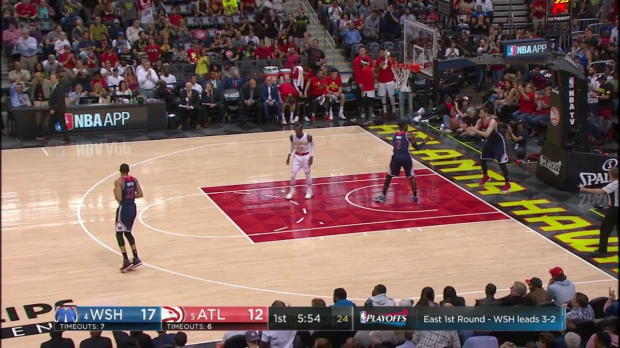WSC: Highlights: Paul Millsap (31 points) vs. the Wizards, 4/28/2017
