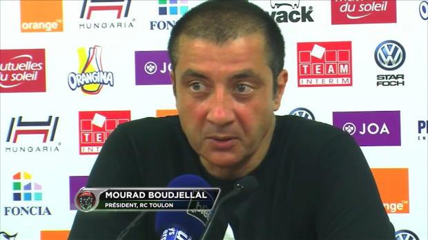 Top 14 - RCT : Boudjellal : 'Presque chiant d'avoir gagné'