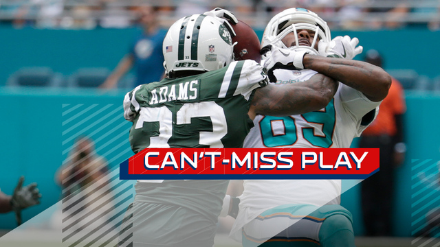 Can't-Miss Play: Julius Thomas leaps over Jamal Adams for crazy one-handed catch