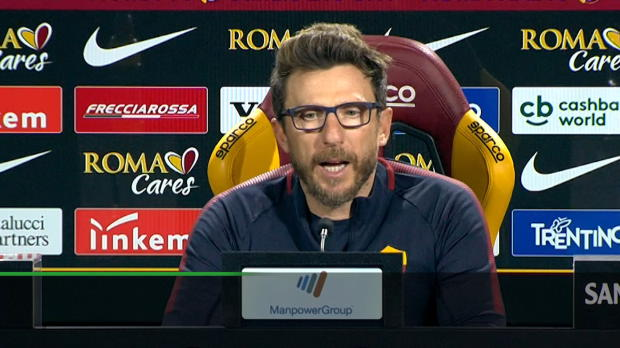 "Di Francesco über Barca-Los: ""Sehr zufrieden"""