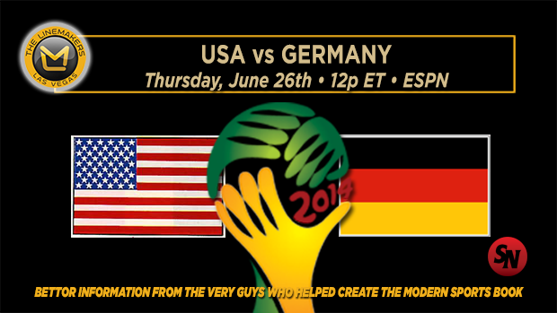 World Cup: USA vs Germany