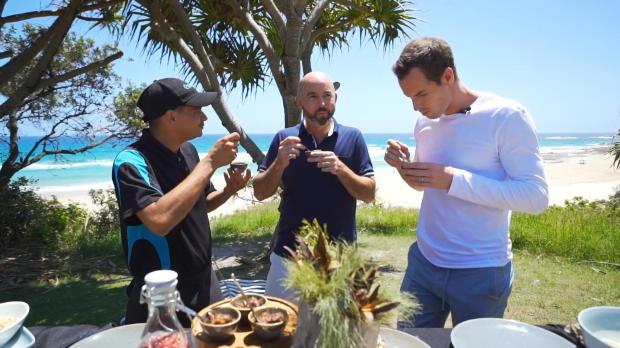 Basket : ATP - Murray mange de la queue de kangourou à Stradbroke Island