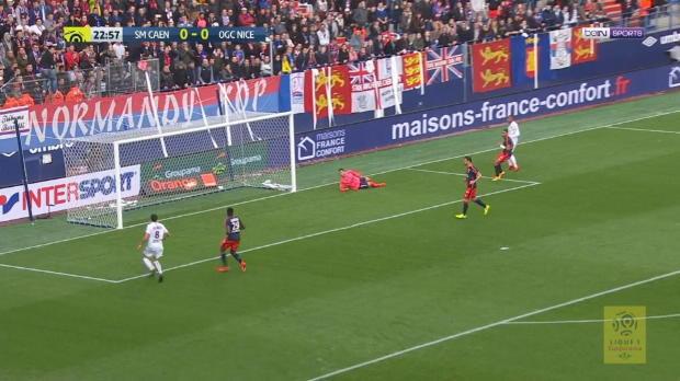 Herzschlagfinale: Nizza vergibt Sieg gegen Caen