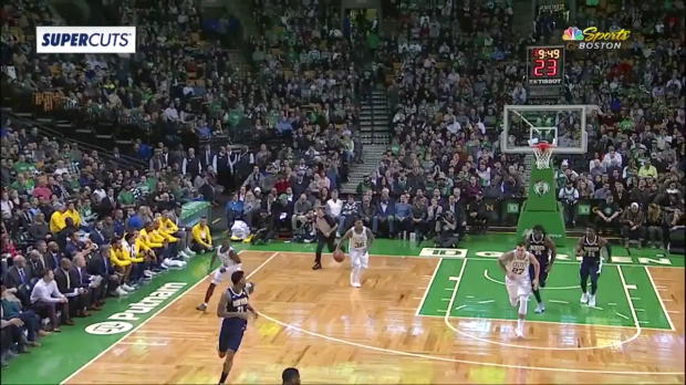 WSC: Daniel Theis 8 points vs the Nuggets