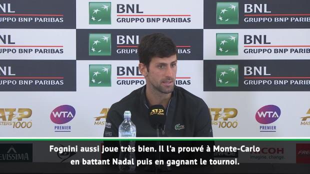 """Tennis : Roland-Garros - Djokovic - """"Il y aura Nadal, et tous les autres"""""""