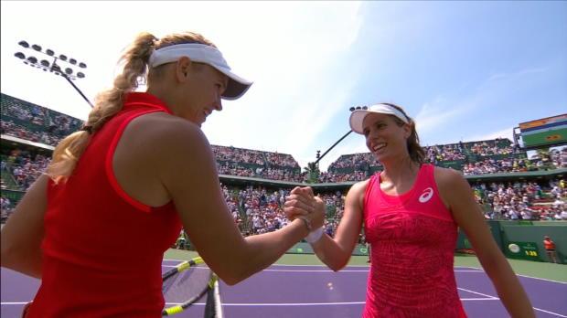 WTA - Miami - Konta s'impose en finale face à Wozniacki