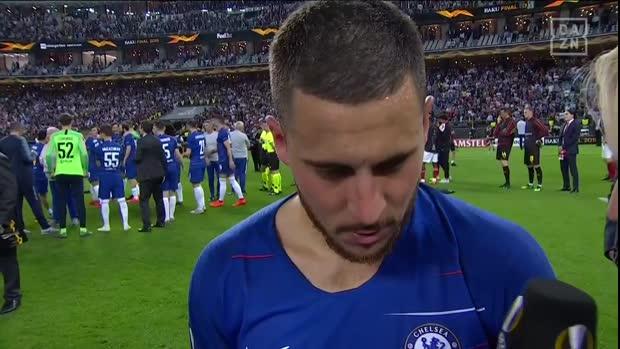 Eden Hazard sucht neue Herausforderung | Europa League Finale 2019