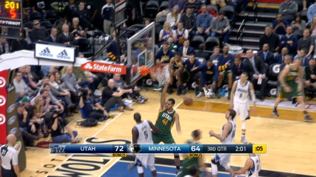Dunk of the Night - Trey Lyles