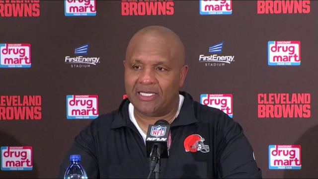 Hue Jackson says he'll watch the tape before naming a starting QB