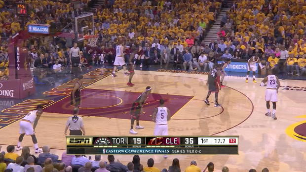 WSC: LeBron James scores 23 points in win over the Raptors