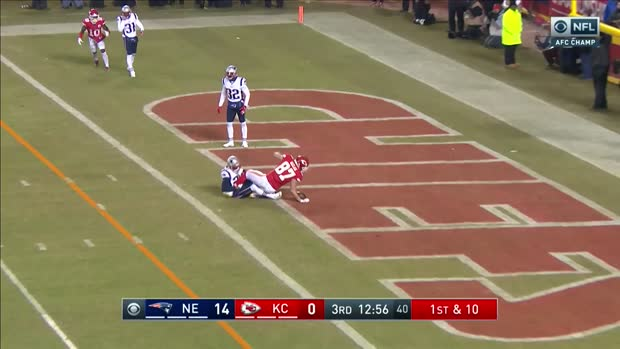 See Kansas City Chiefs tight end Travis Kelce snag a 12-yard TD in 360 degrees   True View