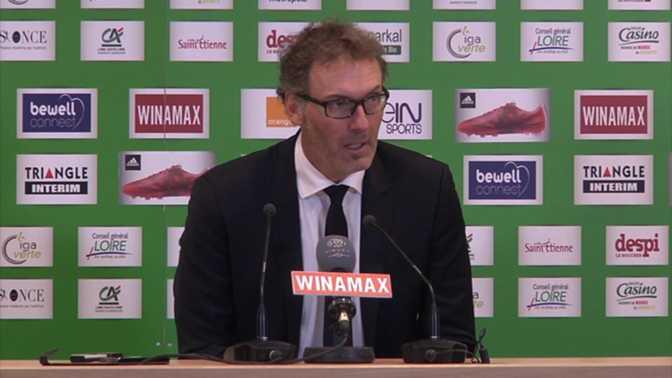 L1-22e j. - Blanc : ''Saint-Etienne a refusé le jeu''