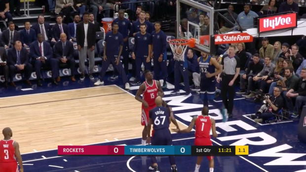 WSC: Karl-Anthony Towns (20 points) Highlights vs. Houston Rockets