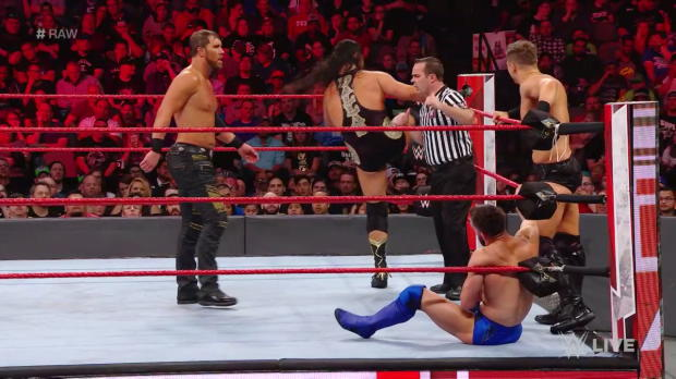 The Bálor Club vs. The Miz & The Miztourage: Raw, March 19, 2018