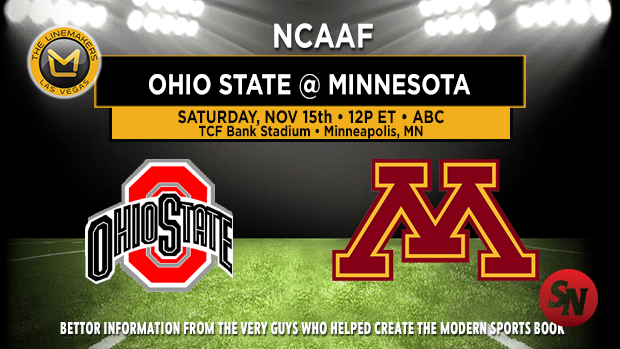 Ohio State Buckeyes @ Minnesota Golden Gophers