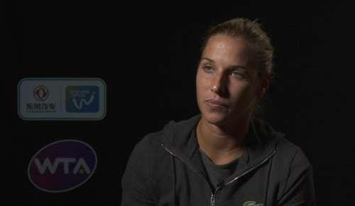 Cibulkova Interview: WTA Wuhan SF