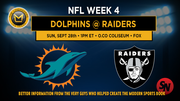 Miami Dolphins vs. Oakland Raiders