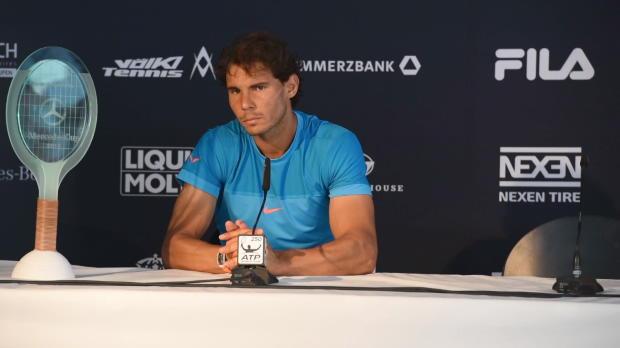"""Stuttgart: Nadal siegt: """"Getan, was ich musste"""""""