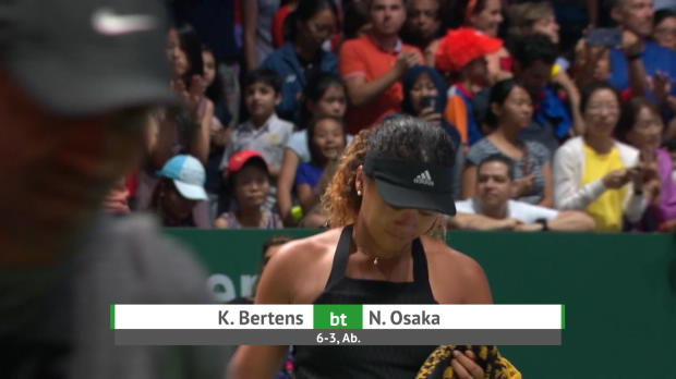 : Masters - Osaka abandonne face à Bertens