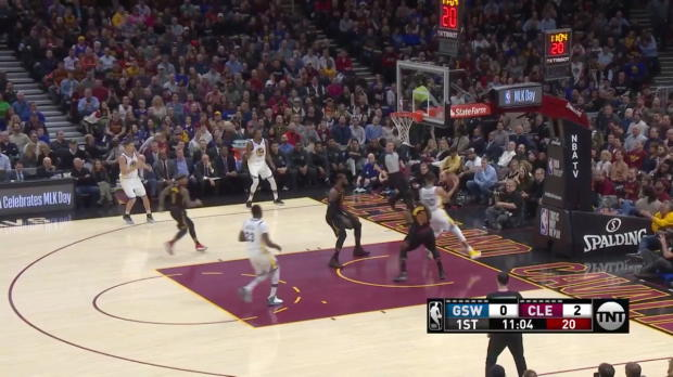 WSC: Stephen Curry (23 points) Highlights vs. Cleveland Cavaliers