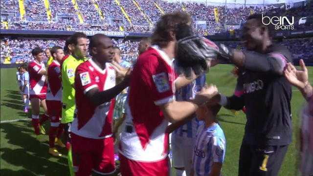 Liga : Malaga 4-0 Rayo Vallecano
