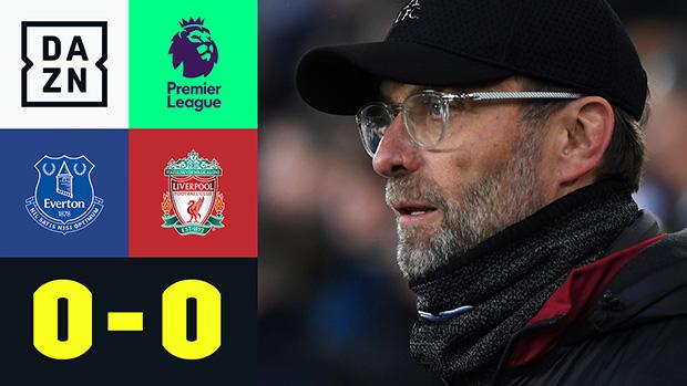 Premier League: Everton - Liverpool   DAZN Highlights