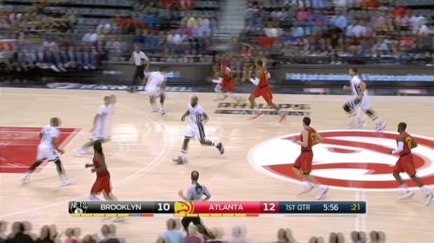 GAME RECAP: Nets 107, Hawks 92
