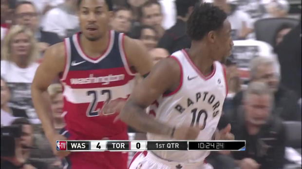 WSC: DeMar DeRozan (32 points) Highlights vs. Washington Wizards