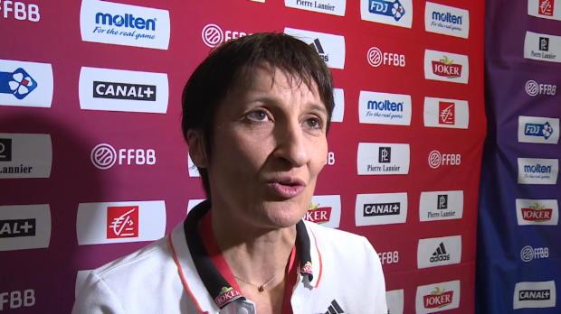 "Basket : FIBA - EuroBasket 2015 (F) - Garnier - ""Un groupe formidable"""