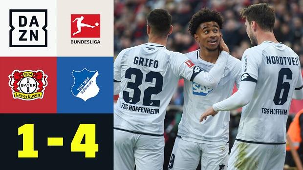 Bundesliga: Bayer 04 Leverkusen - TSG 1899 Hoffenheim   DAZN Highlights