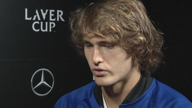 Laver Cup: Zverev über sein Team und Federer