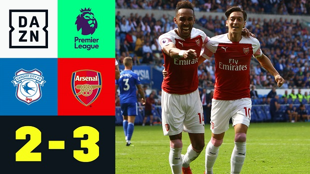 Premier League: Cardiff - Arsenal | DAZN Highlights