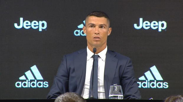 Cristiano Ronaldos erste Worte bei Juventus
