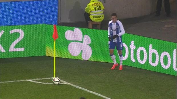 L'attaquant colombien Jackson Martinez, s'est illustré avec Porto en Taca da Liga (4-1), avec une victoire à domicile contre Academica.