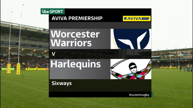 Aviva Premiership - Match Highlights - Worcester Warriors v Harlequins