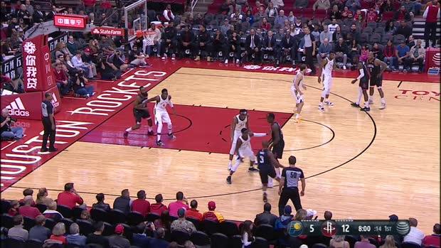 GAME RECAP: Rockets 115, Pacers 103