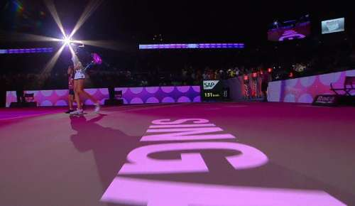 Pliskova v Muguruza Highlights: WTA Singapore RR