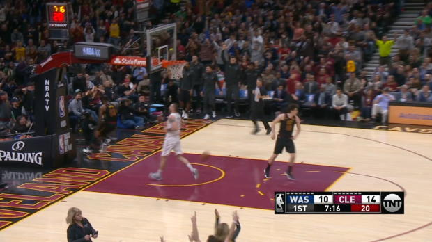 Assist of the Night: Kevin Love