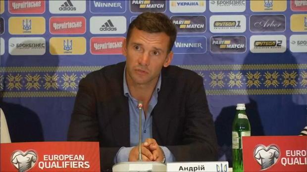 WM-Quali: Shevchenko: Island schwieriges Team