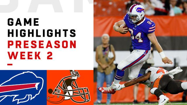 Bills vs. Browns highlights | Preseason Week 2