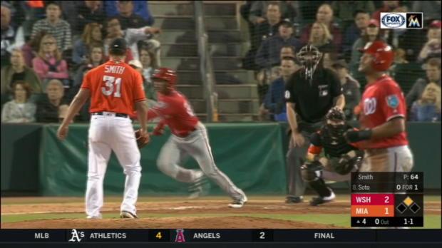 Soto's two-run home run