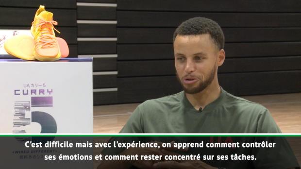 """Basket : Warriors - Curry - """"Ceux qui gagnent sont ceux qui restent concentrés"""""""