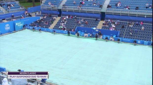 Tennis: Wimbledon-Fieber: Plane auf und ab