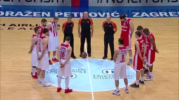 Highlights: Cedevita Zagreb-Olympiacos Piraeus
