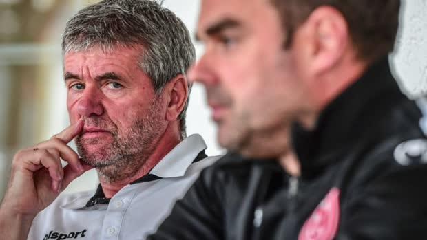 Fortuna-Trainer Funkel bricht in Tränen aus