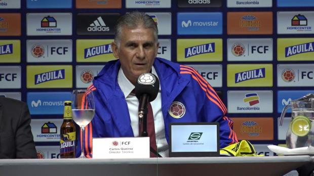 "Kolumbien-Coach Queiroz: ""Muss mit James reden"""
