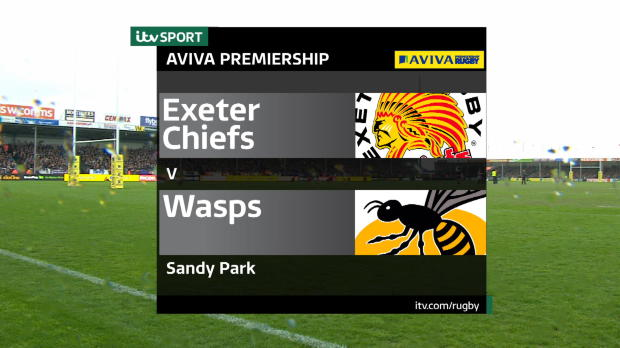 Aviva Premiership - Match Highlights - Exeter Chiefs v Wasps