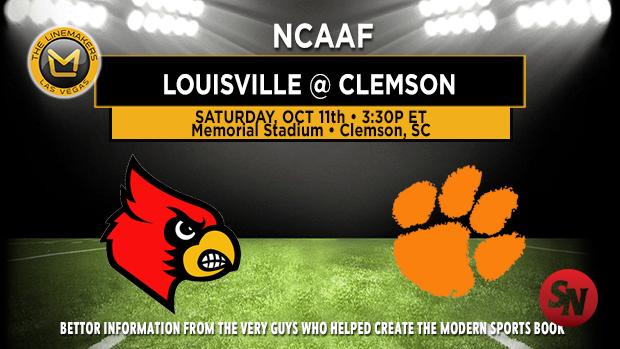 Louisville Cardinals @ Clemson Tigers