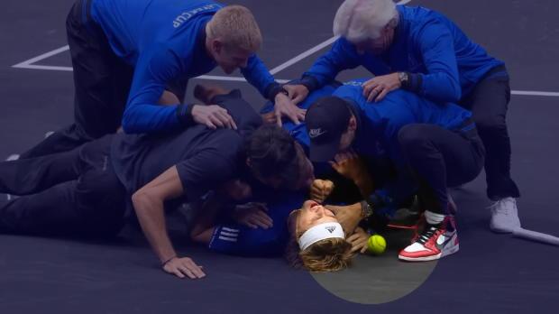 Tennis : Laver Cup - Le petit ramasseur de balle peut avoir la conscience tranquille